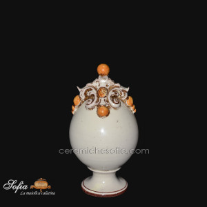 Uova in ceramiche caltagirone