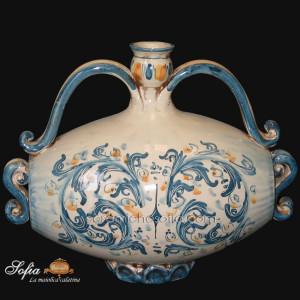 Antichi scaldamani, ceramiche di caltagirone