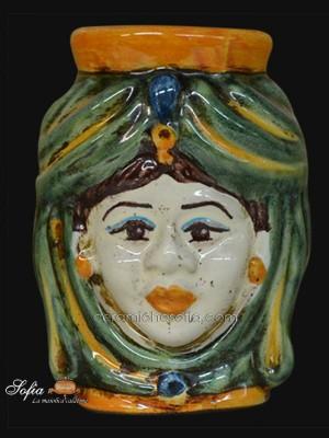 Teste di moro, ceramiche di caltagirone