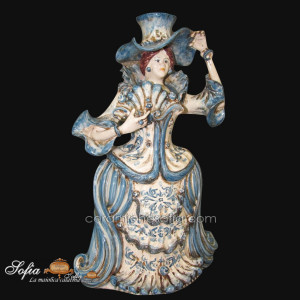 Lumiere in ceramiche caltagirone