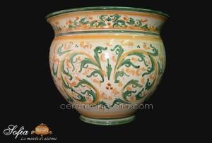 Cachepot, ceramiche di caltagirone