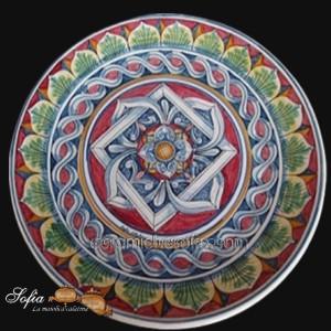 Piatti in ceramiche caltagirone