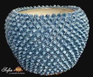 Portapianta, ceramiche artistiche siciliane