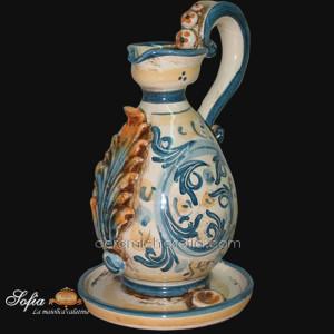 Lucerne, ceramiche di caltagirone