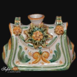Antichi scaldamani in ceramiche caltagirone