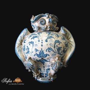 Civette in ceramiche caltagirone