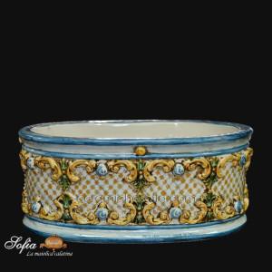 Portapianta, ceramiche di caltagirone