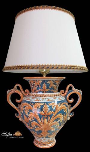 Lumi in ceramiche caltagirone