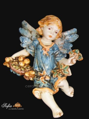 Angeli in ceramiche caltagirone