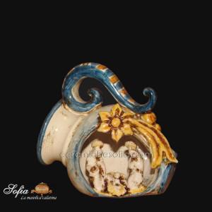 Christmas Line in ceramiche caltagirone