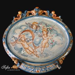 Ovali Ornamentali, ceramiche artistiche siciliane
