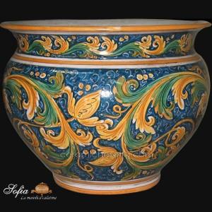 Cachepot, ceramiche artistiche siciliane