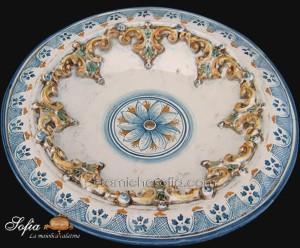 Piatti in ceramica di caltagirone ceramiche di caltagirone sofia®