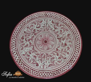 Piatti Ceramica Di Caltagirone.Piatti In Ceramica Di Caltagirone Ceramiche Di Caltagirone Sofia