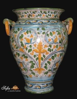 Portaombrelli, ceramiche artistiche siciliane