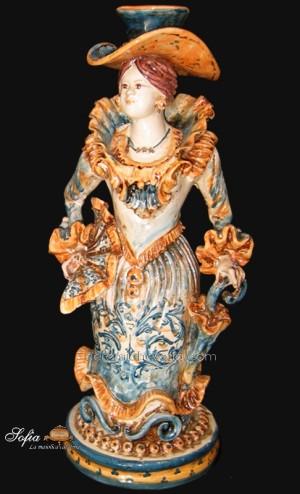 Lumiere in ceramiche caltagirone
