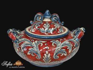 Porta Dolci, ceramiche di caltagirone